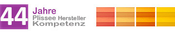 Plissee-Hersteller mit über 35 Jahren Fertigungskompetenz