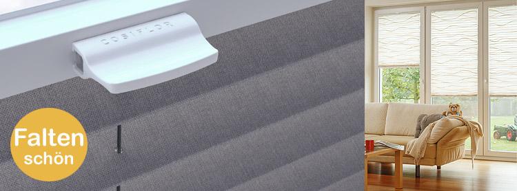 plissee stoff kollektion cosiflor myfaltstores plissee. Black Bedroom Furniture Sets. Home Design Ideas