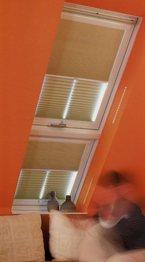 DF Comfort Dach-Plissee
