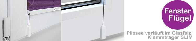 Plissee ohne zu bohren Fenster