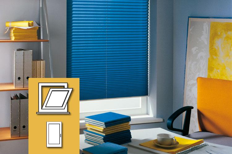 cosiflor myfaltstores plissee. Black Bedroom Furniture Sets. Home Design Ideas