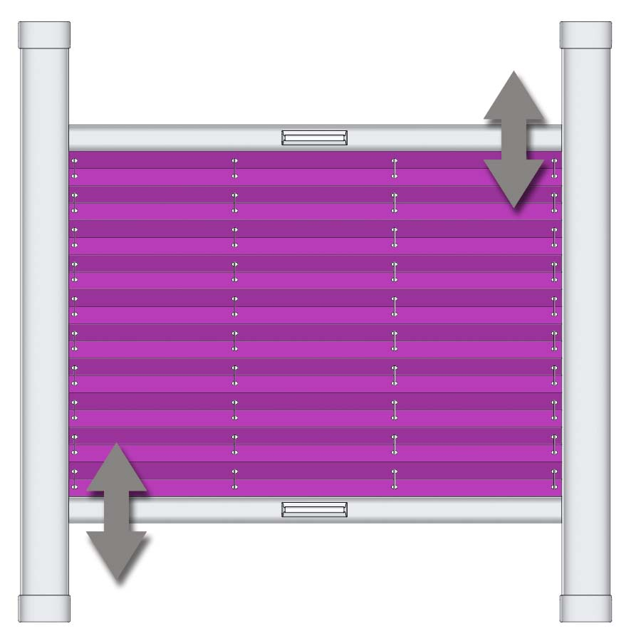 faltstore plissee sonderformen nach ma. Black Bedroom Furniture Sets. Home Design Ideas