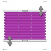 VS2 Faltstore Plissee