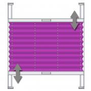 VS2-K Faltstore Plissee
