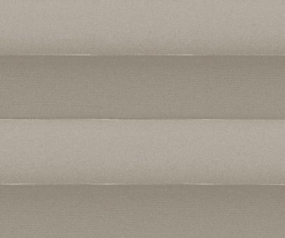 Plissee Alena taupe blickdicht/Sichtschutz/Sonnenschutz Satinstruktur PG0