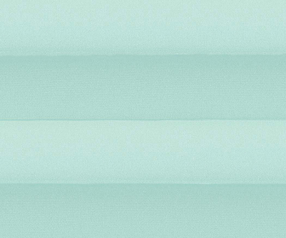 Plissee Alena pastelltürkis blickdicht/Sichtschutz/Sonnenschutz Satinstruktur PG0