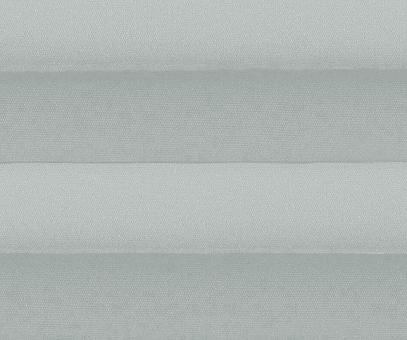 Plissee Alena silbergrau blickdicht/Sichtschutz/Sonnenschutz Satinstruktur PG0