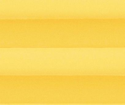 Plissee Alena gelb blickdicht/Sichtschutz/Sonnenschutz Satinstruktur PG0