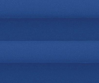 Plissee Alena blau blickdicht/Sichtschutz/Sonnenschutz Satinstruktur PG0