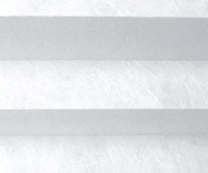 Plissee Loretta weiß lichtdurchlässig blickdicht/Sichtschutz/Dekoration, Vliesstruktur PG1