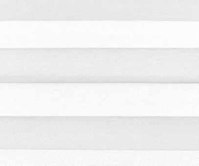 Plissee Loretta weiß lichtdurchlässig blickdicht Sichtschutz, Fenster Dekoration, PG1