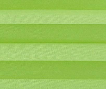 Plissee Loretta grün lichtdurchlässig blickdicht Sichtschutz, Fenster Dekoration, PG1