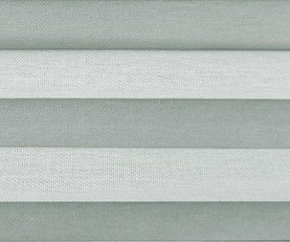 Plissee Loretta grau lichtdurchlässig blickdicht Sichtschutz, Fenster Dekoration, PG1