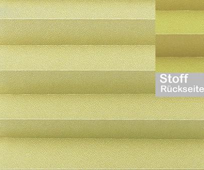Plissee Angela Metalloptik lichtdurchlässig blickdicht/Sichtschutz. Kreppstruktur, PG0
