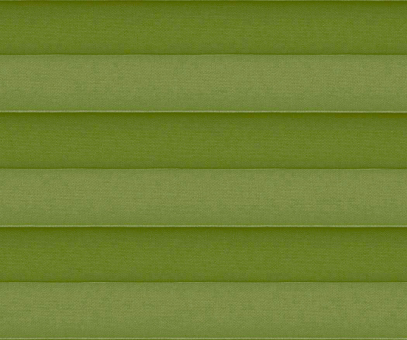 Plissee Donata grün Verdunkelung/blickdicht/Sonnenschutz Hitzeschutz Rückseite Perlmutt PG3