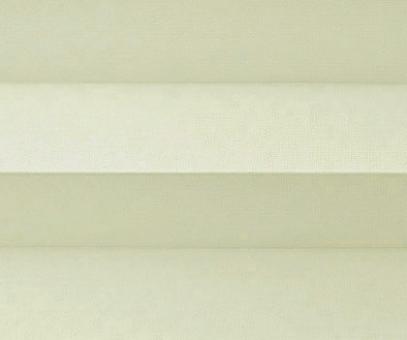 Plissee Donata sandbeige Verdunkelung, blickdicht/Sonnenschutz/Hitzeschutz, Rückseite Perlmutt, PG3