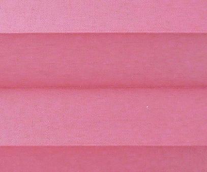 Plissee Donata pink Verdunkelung, blickdicht/Sonnenschutz/Hitzeschutz, Rückseite Perlmutt, PG3