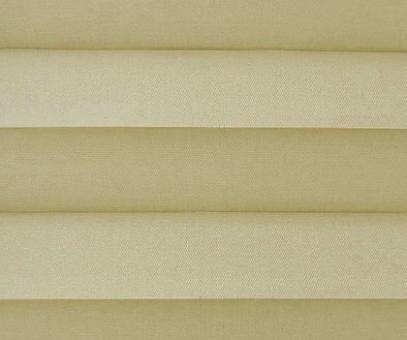 Plissee Loretta beige lichtdurchlässig blickdicht, Sichtschutz/Sonnenschutz, PG1