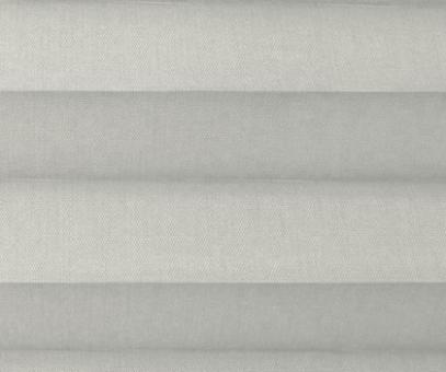 Plissee Loretta grau lichtdurchlässig blickdicht, Sichtschutz/Sonnenschutz, PG1