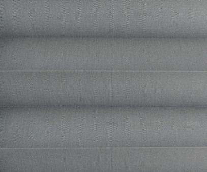 Plissee Loretta graphit lichtdurchlässig blickdicht, Sichtschutz/Sonnenschutz, PG1