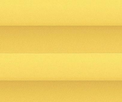 Plissee Loretta gelb lichtdurchlässig blickdicht Sichtschutz/Sonnenschutz PG1