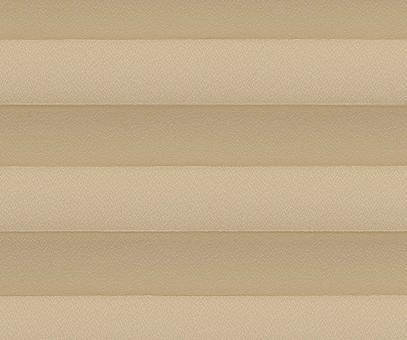 Plissee Alena hellbraun blickdicht/Sichtschutz/Sonnenschutz Kreppstruktur PG0