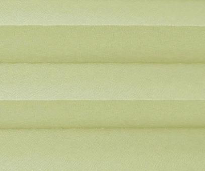 Plissee Angela goldbeige  lichtdurchlässig blickdicht/Sichtschutz/Sonnenschutz. Kreppstruktur, PG0