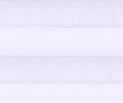 Plissee Loretta weiß lichtdurchlässig blickdicht/Sicht-/Sonnenschutz Crush Optik PG1