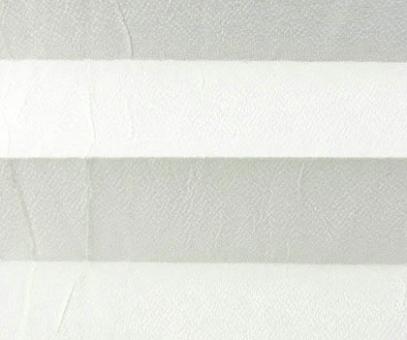 Plissee Loretta weiß lichtdurchlässig blickdicht/Sichtschutz/Sonnen- schutz. Crush Optik, PG1