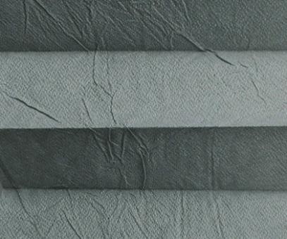 Plissee Loretta grau lichtdurchlässig blickdicht/Sichtschutz/Sonnen- schutz. Crush Optik, PG1