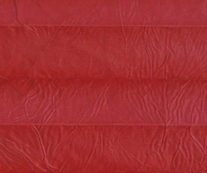 Plissee Isabella rot lichtdurchlässig blickdicht/Sicht-/ Sonnenschutz. Crush, PG2
