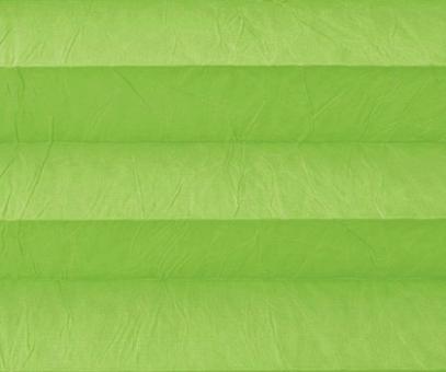 Plissee Isabella grün lichtdurchlässig blickdicht/Sicht-/ Sonnenschutz. Crush, PG2