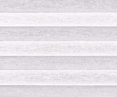 Plissee Loretta weiß transparente Dekoration Relief Struktur Dekor PG1