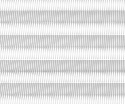 Plissee Isabella weiß lichtdurchlässig blickdicht/Sichtschutz, Linien, Seidenglanz PG2