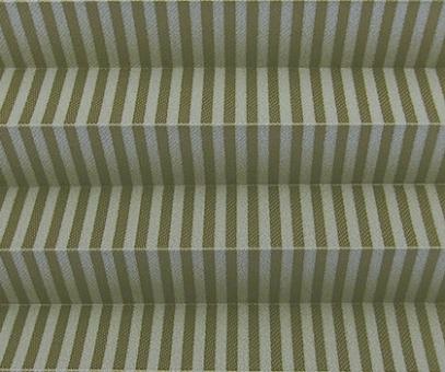 Plissee Isabella braun lichtdurchlässig blickdicht  Sichtschutz/ Linien Muster PG2