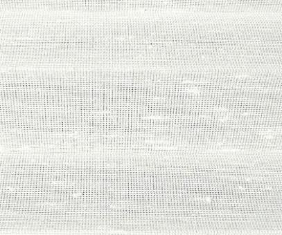 Plissee Loretta weiß transparente Dekoration, Nöppchen Struktur, PG1