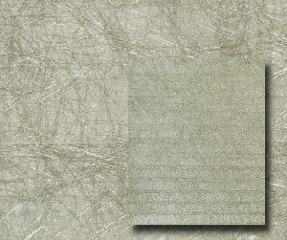 Plissee Donata gold, transparent, Alufaden Struktur, PG3