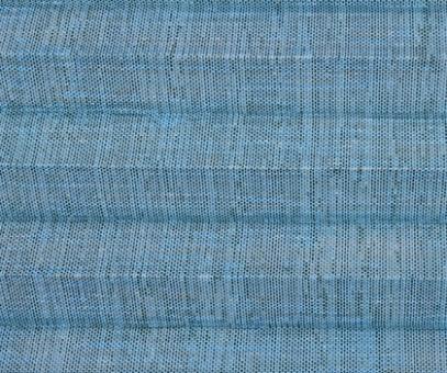 Plissee Vanessa blau, transparente Dekoration Fenster, Leinen Struktur, PG4