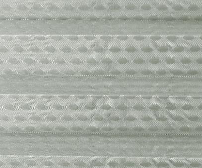 Rollo Donata grau transparent, Kreis Muster Glanz-Struktur, Dekor Fenster Plissee, PG3