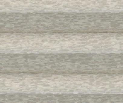 Plissee Donata sand transparente Dekoration Fenster PG3