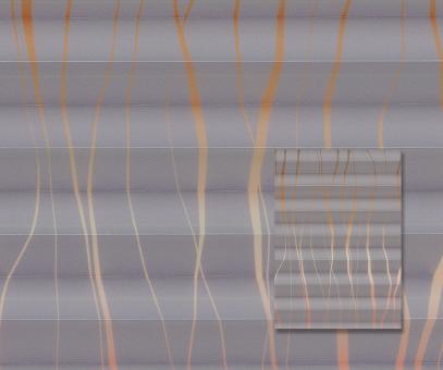 Plissee Donata flieder blickdicht/Sichtschutz/Dekoration Muster Dekor PG3