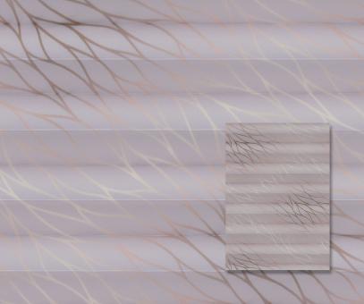 Plissee Donata altrosa blickdicht/Sichtschutz/Dekoration Muster-Dekor PG3