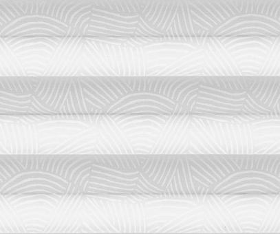 Plissee cosiflor weiß blickdicht/Sichtschutz/Dekoration Linien Design PG2