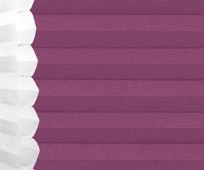 Wabenplissee Isabella violett licht- durchlässig/blickdicht, Sicht-/ Sonnenschutz, isolierend, PG2