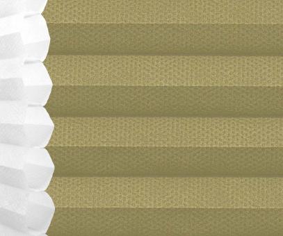 Wabenplissee Isabella olivgrün licht- durchlässig/blickdicht, Sicht-/ Sonnenschutz, isolierend, PG2