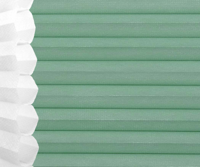 Wabenplissee Isabella mint licht- durchlässig/blickdicht, Sicht-/ Sonnenschutz, isolierend, PG2