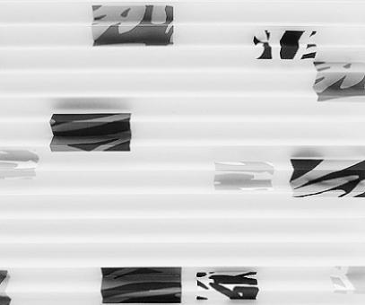 Plissee nach Maß SALE% so günstig, weiß blickdichte Fenster Dekoration,  Muster grafisch, PG0