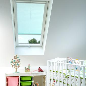 Dachfenster Plissees