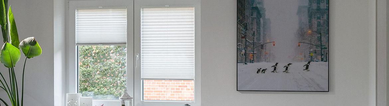 Plissee Schlafzimmer Banner 5
